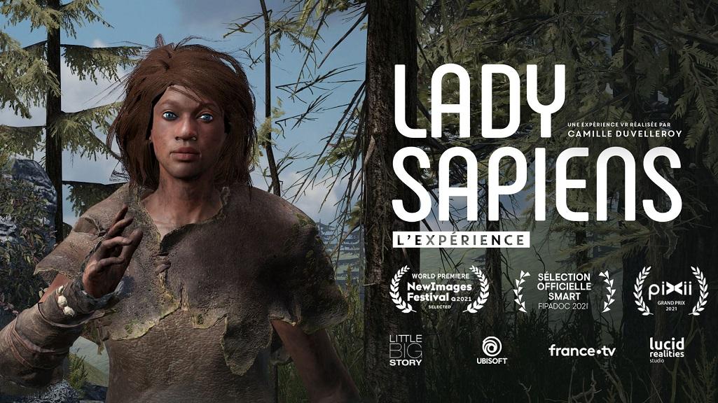 Lady Sapiens XR experience Grand prix Pixii
