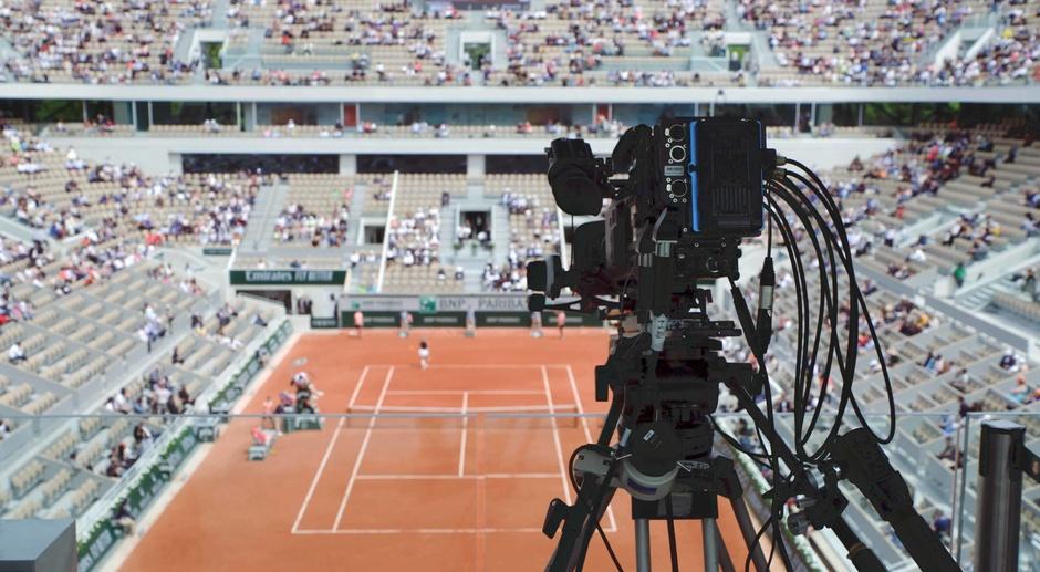 France Télévisions - Caméra utilisée pour Roland Garros 2019, Plan Rapproché