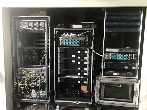 Equipment used to produce 8K over the 5G network
