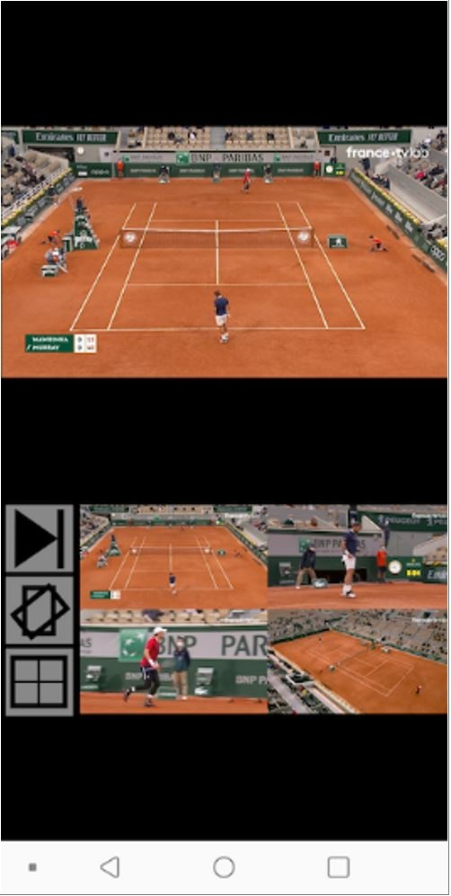 Figure 1: Multiview mobile layout (Source: Stephane Desproges)