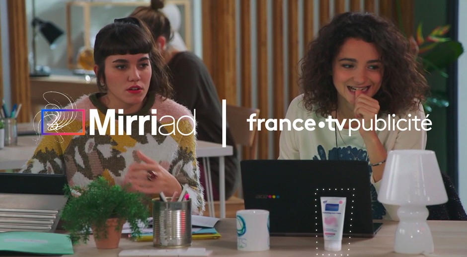 Example of product placement with Mirriad - France Télévisions Publicité