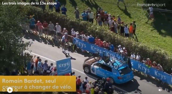 Top 3 images of the 13th stage of the Tour de France 2019
